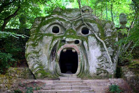 giardini di bomarzo il sacro bosco di bomarzo meglio noto come parco dei