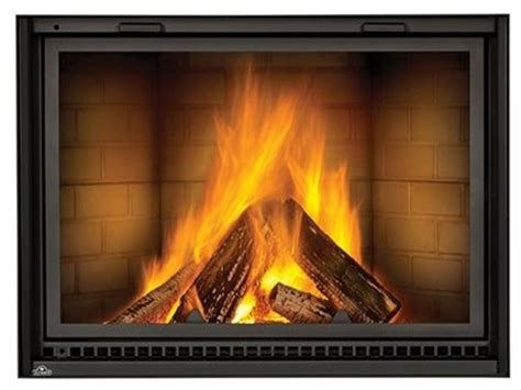 nz8000 linear wood burning fireplace with traditional