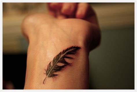 your flesh tattoo get delicate leaf on your