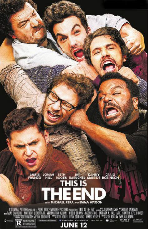 film it is the end film actually movie of the week this is the end