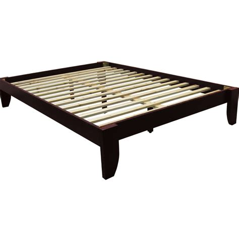 platform bed frame without headboard solid size platform bed frame without headboard of