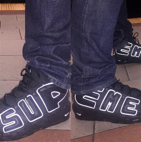 Nike Uptempo X Supreme Gold Premium supreme x nike air more uptempo collection kicksonfire
