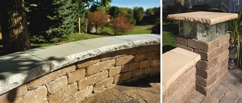 seat wall seat wall pillar caps rochester concrete products