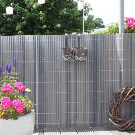 sichtschutz garten kunststoff grau siddhimind info