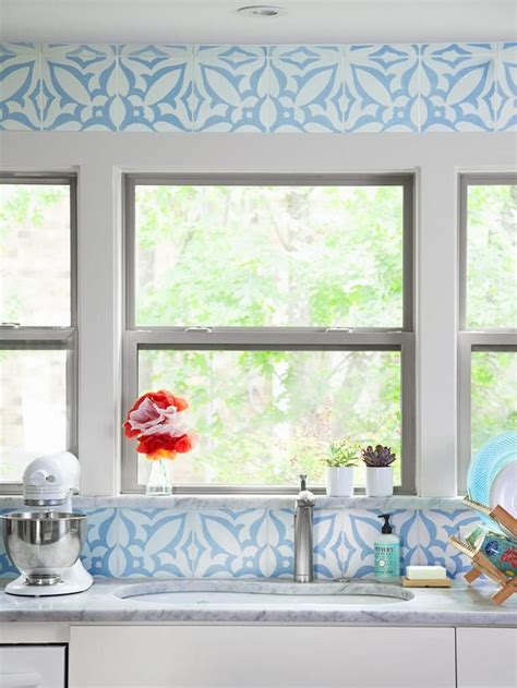 bright tiles kitchen a bright kitchen with personality from hgtv magazine