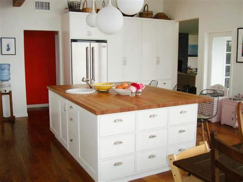 kitchen island countertop ideas wood kitchen countertops pictures ideas from hgtv hgtv