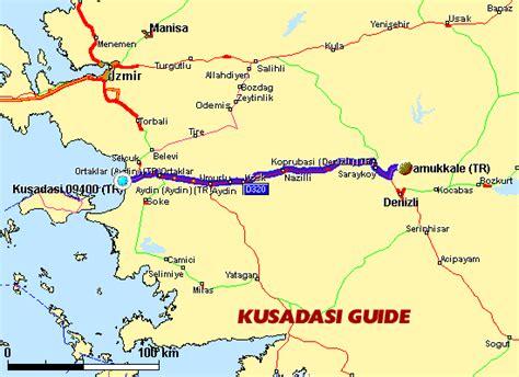 kusadasi city map city map