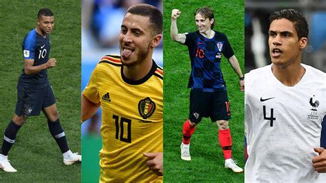 coupe du monde 2018 football coupe du monde 2018 l 233 quipe type du mondial russie