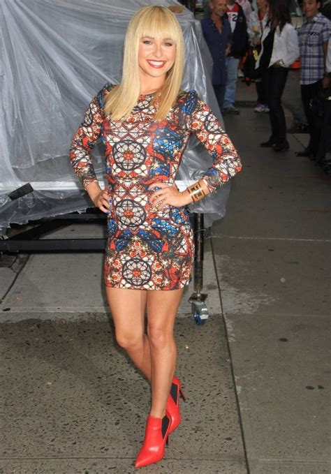 Style Hayden Panettiere Fabsugar Want Need 7 by Hayden Panettiere Print Dress Hayden Panettiere Looks