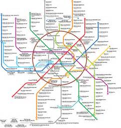 Metro Map Moscow English by More Thoughts On A Mega Dungeon Edowar S Blog