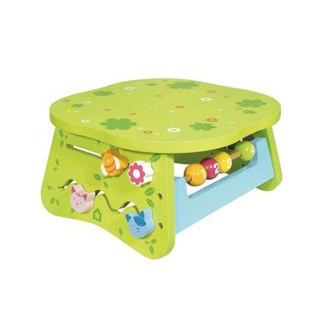 Toddler Activity Table by Wooden Multi Activity Table For Children 1 Year