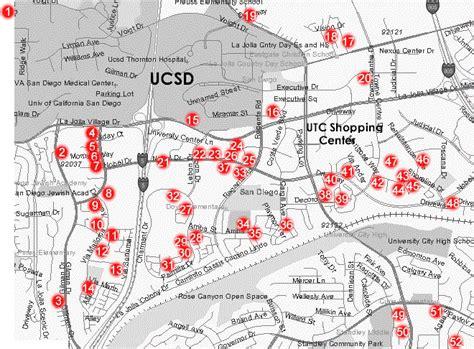 utc map utc san diego map