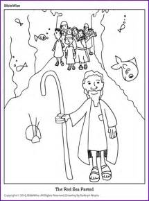 moses parting the sea coloring sheet free coloring pages of moses and the sea