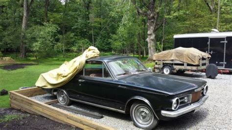 cherry buys plymouth sell used 1965 barracuda slant six engine in port murray