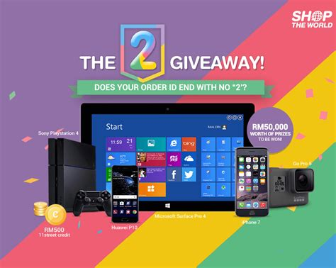 Free Home Giveaway Contests - 11street my the 2 giveaway contests events malaysia