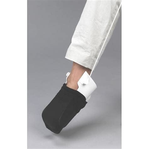 sock aid demonstration rigid sock aid with heel guide wide assistive sock aid