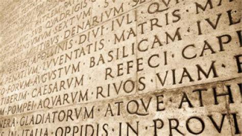 lettere romane appunti di come scrivevano le lettere gli antichi