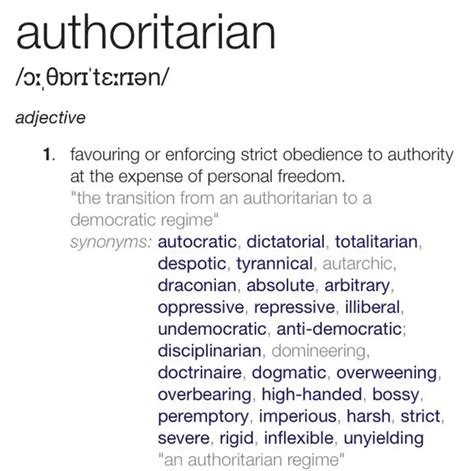 Authoritative Biography Definition | 14 answers why is singapore so authoritarian they have