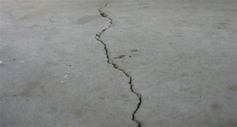 Cracked Garage Floor by How To Repair Garage Floor Cracks And Pitting All Garage