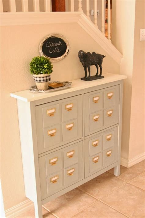 ikea hack hemnes shoe cabinet top 33 ikea hacks you should for a smarter exploitation of your furniture