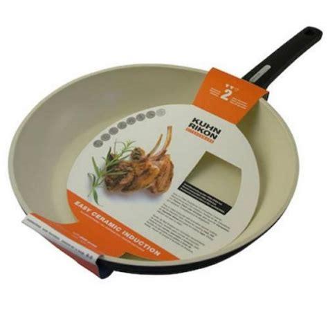 ceramic induction kuhn rikon kuhn rikon easy ceramic induction frying pan 20cm