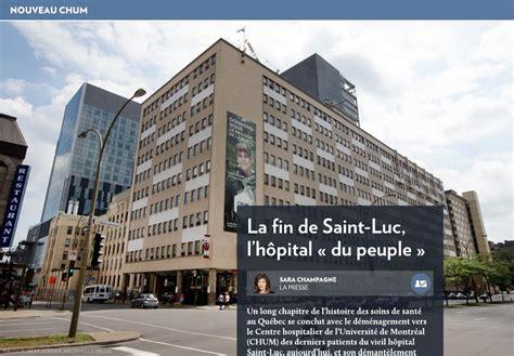 Hopital St Luc Detox by L H 244 Pital Luc L H 244 Pital 171 Du Peuple 187 La Presse