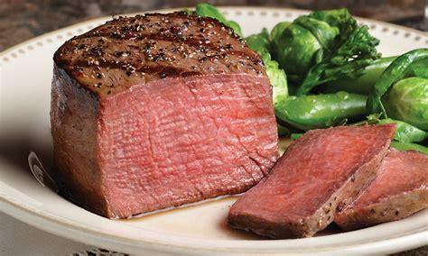 filet mignon beef steak beef tenderloin omaha steaks