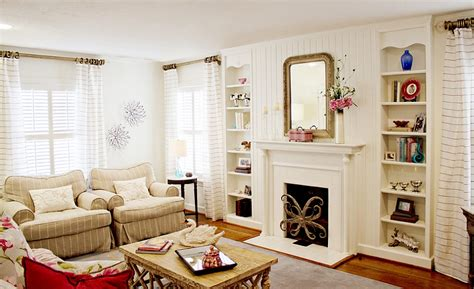 bungalow living rooms chic cottage style living room with lovely neutral hues