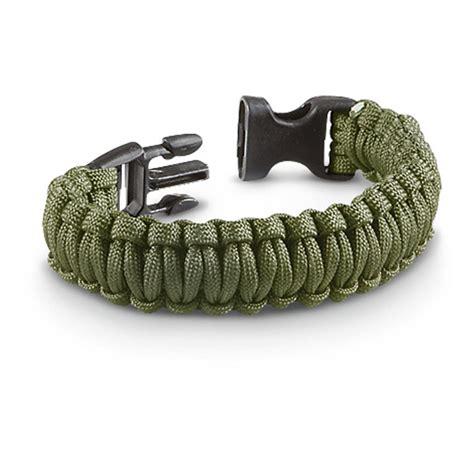 3 Paracord Military Survival Bracelets   213249, Survival