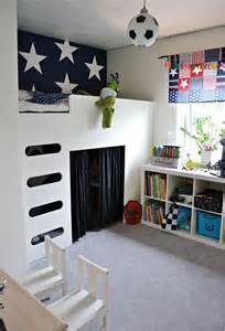 Toddler Bedroom With Play Area Play Areas Room Loft Beds Kidspace Interiors