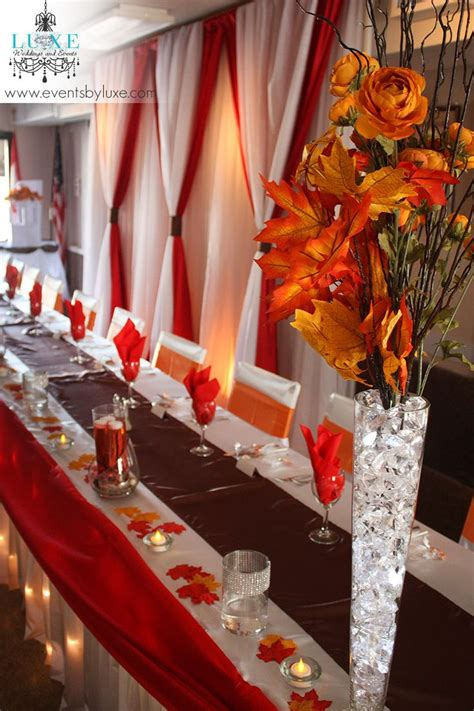 25 best ideas about orange wedding decor on