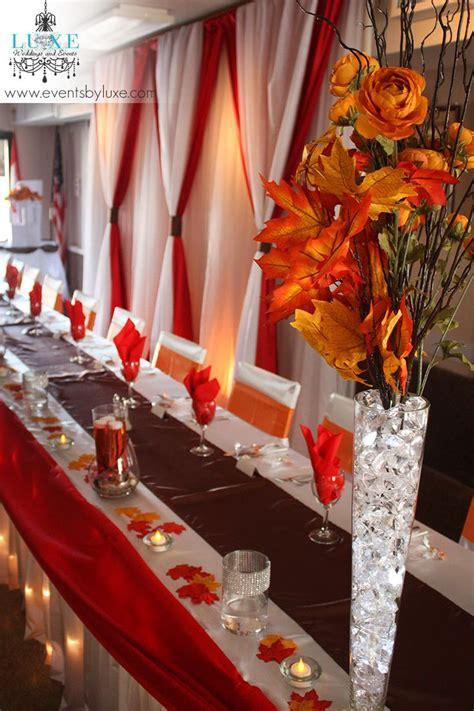 brown red and orange home decor 25 best ideas about orange wedding decor on pinterest