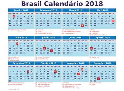 Calend Brasileiro 2018 Brasil Archives Calendario 2018