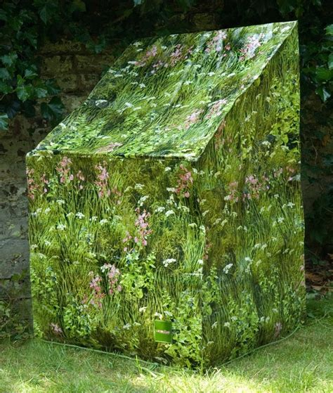 camouflage stacking chair garden furniture cover long grass