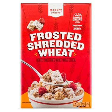 Market Pantry Cereal by Frosted Shredded Wheat Breakfast Cereal 18oz Market Pantry Target