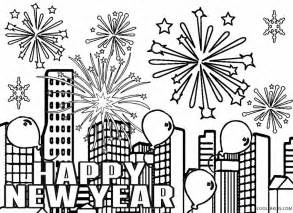 new year coloring page free fireworks printable coloring pages cooloring