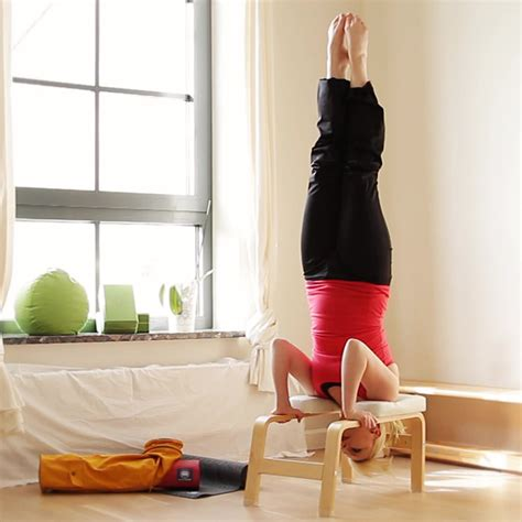 yoga headstand bench yoga props headstand bench benches