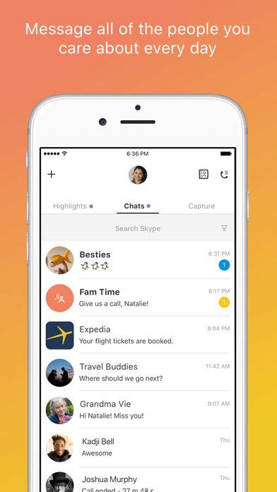 mudar layout iphone skype for iphone on the app store