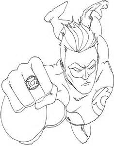 Green Lantern Coloring Page free coloring pages of corps green lantern
