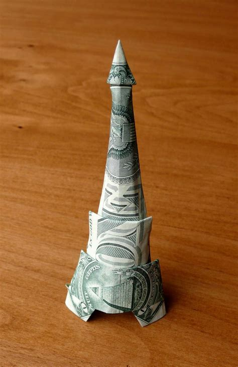 Origami Tower - 17 best images about origami on dollar bill