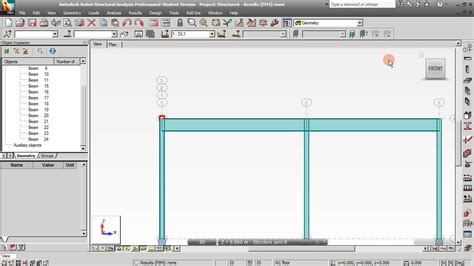 Frame Design 2d Youtube | from 2d frame to 3d frame and building design in autodesk