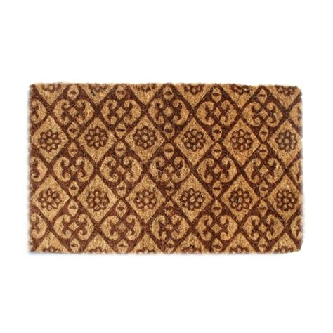 Decorative Welcome Mats Floral Welcome Mat By Imports Decor In Doormats