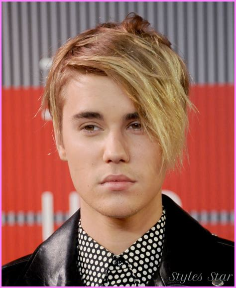 hairstyles over the years justin bieber hairstyles through the years stylesstar com