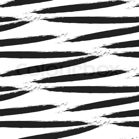 ink pattern black and white paint black ink brush strokes bold zebra vector seamless