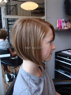 will an angled bob make my face look skinny a rounded bob that curls under can make a round face look