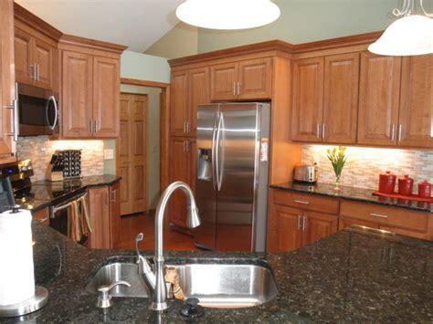 maple cabinets gray walls maple kitchen cabinets carlton door style cliqstudios
