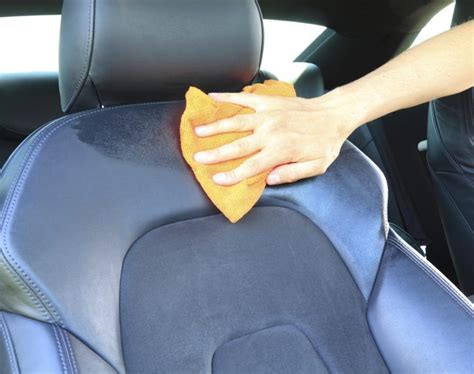 Cleaning Car Upholstery Stains by How To Remove Water Stains From Car Seats Ehow