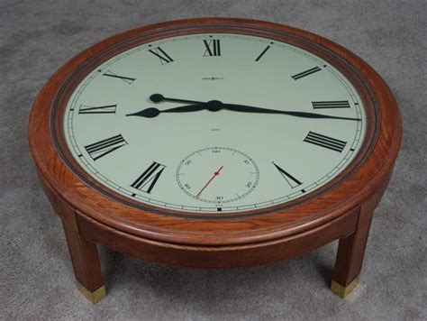Howard Miller Coffee Table Clock American Oak Howard Miller Clock Coffee Table