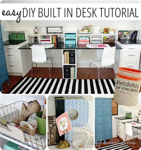 Diy Built In Desk The World S Catalog Of Ideas