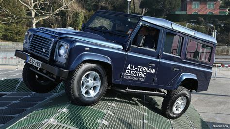 electric land rover 2013 land rover electric defender concept off road